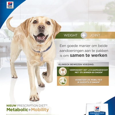Metabolic + Mobility Canine NL